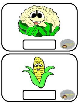 Vegetables - Flashcards