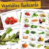 Vegetables Flashcards