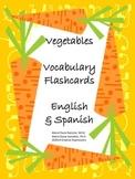 Vegetables - Flashcards - English & Spanish