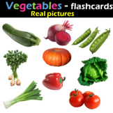 Vegetables - Flashcards (Real pictures)