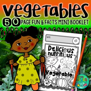 Vegetables  {Fun activities to support healthy eating and vegetable gardening}