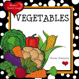 Vegetables Healthy Food Early Reader Literacy Circle