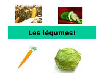 Vegetables-Les legumes
