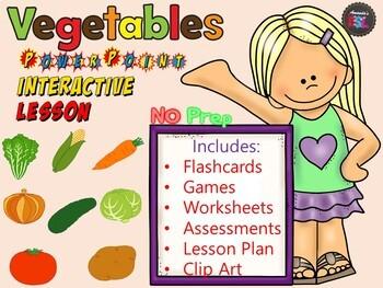 Vegetables - Lesson - ESL Power Point Interactive Games, worksheets & More