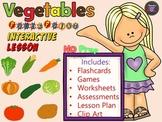 Vegetables - Lesson - ESL Power Point Interactive Games, worksheets & More.