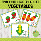 Vegetables Pattern Blocks Spin and Build