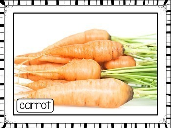 Vegetables Photo Poster Display Pack