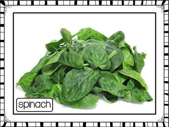 Vegetables Printable Photo Poster Display Pack {UK Teaching Resource}