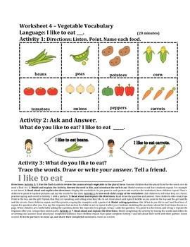 Vegetables–Singular/Plural Nouns–Read Aloud–Stone Soup–Gr 1-3 Expanding/Bridging