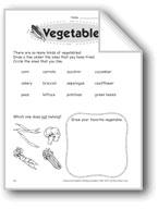 Vegetables (Thinking Skills)