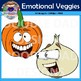 Vegetables With Emotions (Veggies, Happy, Sad, Angry, Healthy, Delicious)