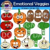 Vegetables With Emotions (Veggies, Happy, Sad, Angry, Heal