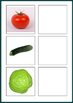 Vegetables- Word to picture Matching Activity