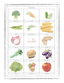 Vegetables Worksheet