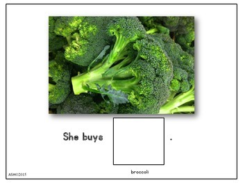 Vegetables an Interactive Book with Comprehension Questions