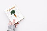Vegetables books: Book 4 - Carrots | Huerto sin tierra