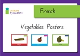 Vegetables in French Displays