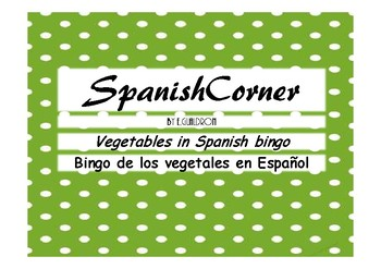 Vegetables in Spanish Bingo