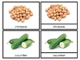 Vegetables of the Diaspora - Nomenclature Cards - African