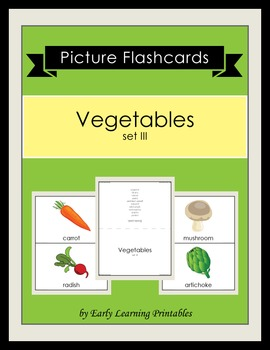 Vegetables (set III) Picture Flashcards