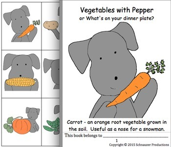 Vegetables with Pepper in English