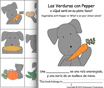 Vegetables with Pepper in Spanish