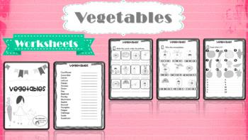 Vegetables - worksheets