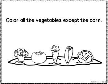 #mar17slpmusthave Veggie Comprehension
