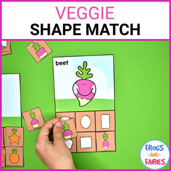 Veggie Shape Match