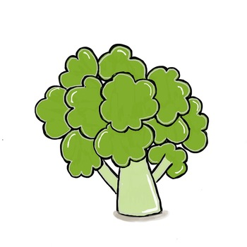 Veggies Clipart - Fresh from the Patch