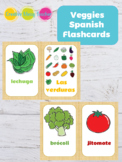 Veggies Spanish Flashcards