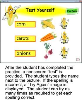 Veggieville Part 1:  A Fun Way to Practice Spelling (MAC)