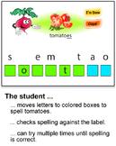 Veggieville Part 2:  A Fun Way to Practice Spelling (MAC)