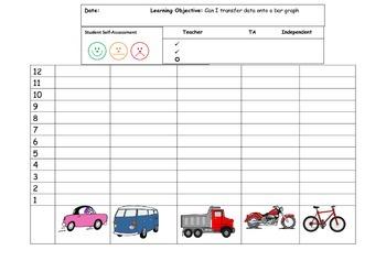 Vehicle Bar and Tally Graphs