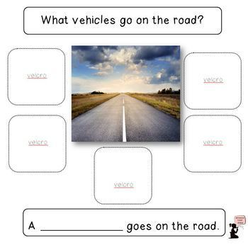 Vehicle Book, Cards, & Sorting