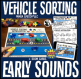 Vehicle Counters Companion for Early Sounds: Speech Therapy Articulation