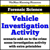 Forensic Science Vehicle Crime Scene Investigation Activity