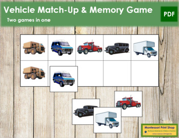 Vehicle Match-Up and Memory