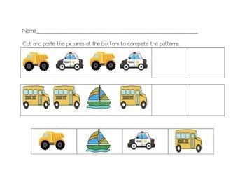 Vehicle Patterning