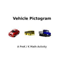 Vehicle Pictogram Math Activity