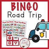Vehicle Road Trip Bingo Cards