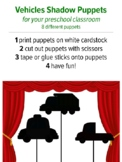Shadow Puppets Vehicles, preschool music and movement activity