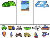 Vehicle Sort - Land, Sea, Sky