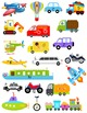 Vehicles & Transportation Alphabet Matching Game A-Z