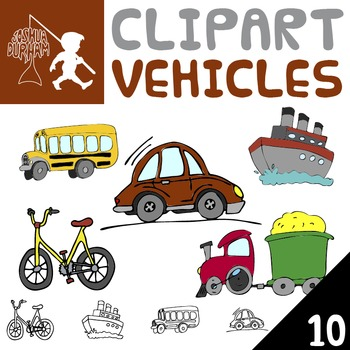 Vehicles - Digital ClipArt