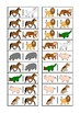 Animal Domino Game, Turn Taking Skills for Autism & Special Education