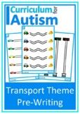 Fine Motor Pre-Writing Skills Transportation Autism Specia