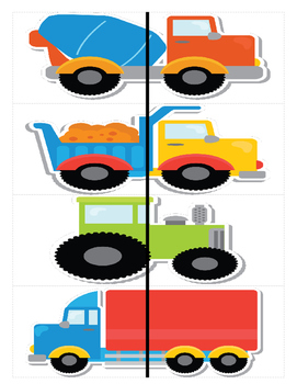 Vehicles - Matching Fronts and Backs