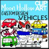Vehicles - Moon Hollow Clip Art