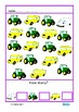 Picture Count to 10 Vehicle Theme Autism Special Education Basic Concepts